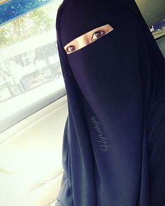 Young Niqabi on a bus