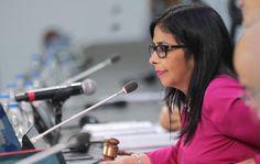 La Ministra de Relaciones Exteriores de Venezuela, Delcy Rodríguez, reaccionó contra Luis Videgaray, luego de las declaraciones del Canciller, en una... #México #Venezuela #OEA
