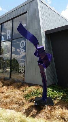 2k Purple Knott. Mark L Swart. #marklswartsculpture Park, Purple, Artist, Design, Artists, Parks, Viola