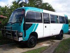 Toyota Coaster Build up Conversion Van, Toyota Hiace, Workshop Storage, Car Wash, Motorhome, Caravan, Offroad, Coasters, Trucks