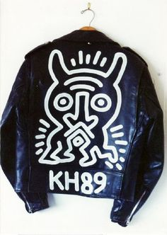 Keith Haring, Schott Brothers Motorcycle Jacket