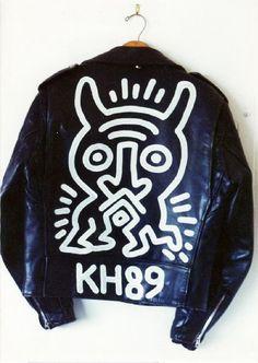 Keith Haring, Schott Brothers Motorcycle Jacket
