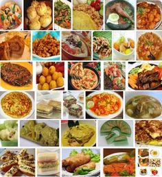 Oude originele Indische recepten