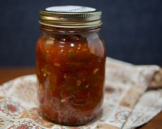 Salsa Recipe (for Canning) Tomato salsa