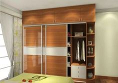 The use of modern wall wardrobe Almirah designs is one of the best ways of utilising space available in the home for noble activities. The wall wardrobe almirah helps in reducing congestion in the house as a result of adding another furniture or cabinet and instead using the available space to design a beautiful wardrobe.