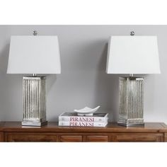 Shop for Safavieh Lighting Clear Rock Crystal Table Lamp (Set of - Get free delivery On EVERYTHING* Overstock - Your Online Lamps & Lamp Shades Store! Get in rewards with Club O! Silver Table Lamps, Standard Lamps, Table Lamp Sets, Lamp Shades, Bulb, Rock, Lighting, Home Decor, Interiors