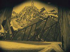 Cinema Without People Robert Wiene, Dr Caligari, Animation Background, Film Stills, Victorian Era, Cinema, Inspiration, Painting, Cabinet