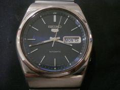Retro Seiko 5, very nice blue dial