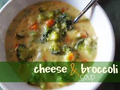 cheese and broccoli soup recipe