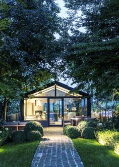 A glass house in Piedmont, Italy. #vacation #rental #italy #travel