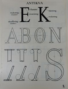 Variations within the 'Classical' alphabet