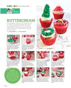 All You Need Is Cupcakes!: DIY: Paso a paso de cupcakes navideños