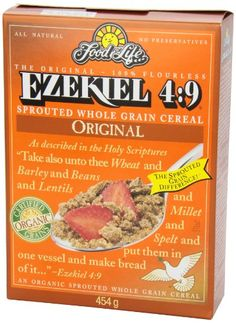 Food For Life Ezekiel 4:9 Organic Sprouted Whole Grain Cereal {all varieties THM approved except raisin}
