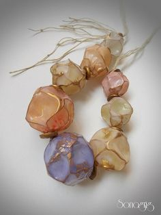 DIY Polymer Clay Hollow Balloon Beads Tutorial by Sona... (via Bloglovin.com )