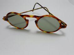 c93210ab6db7 Vintage RARE Tortoise Bakelite Lucite John Lennon Eyeglasses Glasses Glass  Lenses