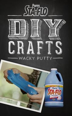 "VIDEO: How to Make ""Wacky Putty"" Using Purex Sta-Flo"