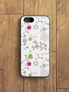 Science iPhone 6 Case Chemistry iPhone 5s Case Molecule by zoobizu