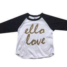 *NEW* Adult Ello Love Raglans!