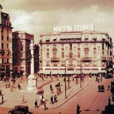 Mappin Stores, Praça Patriarca, anos 1920.