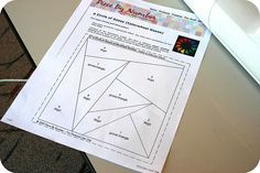 Great how to for paper-pieced quilt block.