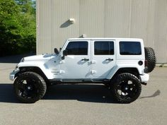 white four door jeep wrangler | 2011 Jeep Wrangler Unlimited Sahara 4-door on 2040cars