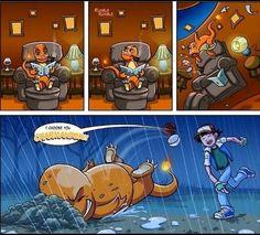 Poor charmander