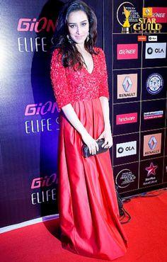 Shraddha Kapoor in Atsu at the Star Guild Awards 2015
