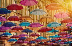http://pyr0sky.deviantart.com/art/Poem-of-umbrellas-391643403  Belgrade, Serbia