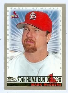 88 Best Mark Mcgwire Images In 2019 Baseball Cards Baseball Mlb
