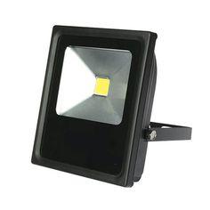 Spot LED exterieur 700 lumen éclaire 70 W Projo noir