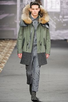 Just Cavalli Fall 2012 Ready-to-Wear Fashion Show Good Looking Men, Fashion Show, Fashion Design, Modern Luxury, Canada Goose Jackets, Parka, Ready To Wear, How To Look Better, Fur Coat