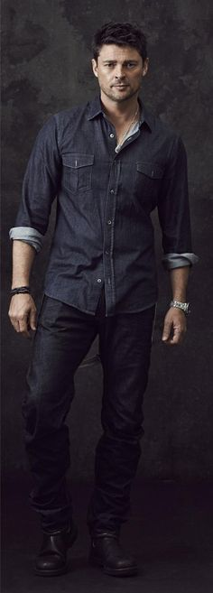 Karl (Almost Human promo photo)