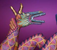 Hand Art - dragon