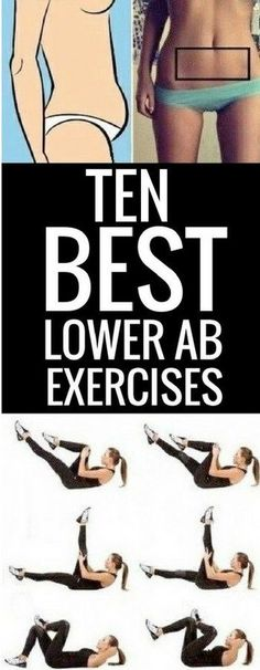 10 ultimate exercises to work your lower abs.