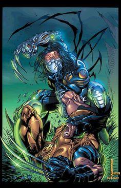 The Darkness vs Wolverine