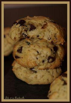 Cookies moelleux aux pépites de chocolat (1)