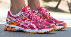 ASICS - Don't underestimate the importance of a good pair of walking shoes.