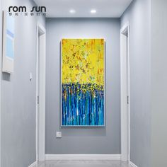 Abstract Yellow Forest Landscape HD Canvas Painting Wall Art Pictures For Living Blue Room Home Decor Posters And Prints Nordic. Yesterday's price: US $5.76 (4.74 EUR). Today's price: US $2.71 (2.23 EUR). Discount: 53%.