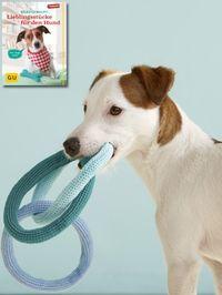 Das perfekte Spielzeug für Ihren Hund: Es besteht aus Baumwollgarn und ist zahnschonend und zahnreinigend und lässt sich ganz einfach nachmachen.