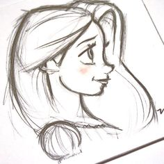 Arquivos Disney – Burn Book Inspirational images based on Disney characters. Disney Drawings Sketches, Cute Disney Drawings, Girl Drawing Sketches, Disney Princess Drawings, Pencil Art Drawings, Cartoon Drawings, Easy Drawings, Drawing Disney, Pencil Sketching