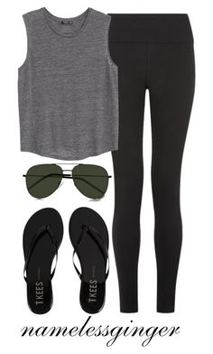 """""""MC 1"""" by namelessginger ❤ liked on Polyvore featuring Tkees, MANGO and Yves Saint Laurent"""