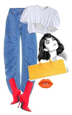 """""""Untitled #1515"""" by santospretty ❤ liked on Polyvore featuring STELLA McCARTNEY, Balenciaga, Chanel, Louis Vuitton and Lime Crime"""