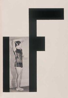 Alphabet by Karel Teige