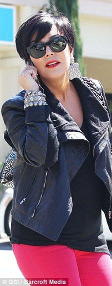 Kris Jenner...love her chic modern style. She is also a saavy business lady.