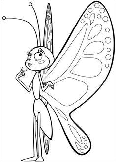 Maya Bee Tegninger til Farvelægning 36
