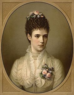 The Empress Maria Feodorovna, wife of the Emperor Alexander III, sister of Queen Alexandra of England and mother of Nicholas II was born at the Yellow Palace in Copenhagen on this day, 26th Novembe…
