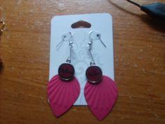 earings i made,