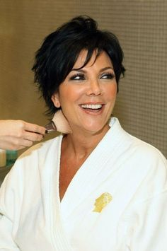 Kris Jenner Hairstyle... For you Aunt Sue! You need to try this style :)