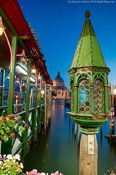 The lantern, Venezia, Italy,  by Giacomo Albertini