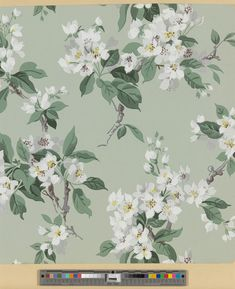 Wallpaper | United Wallpapers, Inc. (Manufacturer) | 2000.535 -- Historic New England